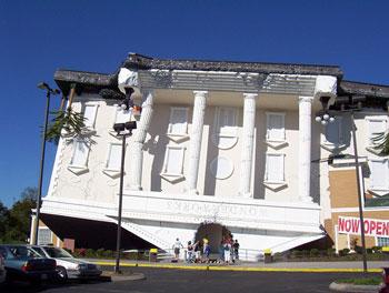 Wonderworks (Pigeon Forge, bang Tennessee, Mỹ)